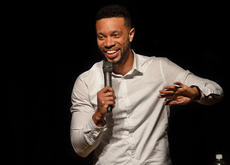 """<div class=""""source"""">KACIE GOODE/The Kentucky Standard</div><div class=""""image-desc"""">Sean Smith was the featured Act at Saturday's FUNdraising with Laughter event at Thomas Nelson High School. The event raised money for Project Lift Off.</div><div class=""""buy-pic""""><a href=""""/photo_select/93517"""">Buy this photo</a></div>"""