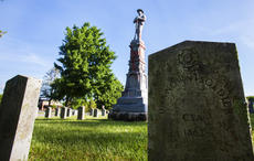 "<div class=""source"">FORREST BERKSHIRE/The Kentucky Standard</div><div class=""image-desc"">Vandals late last week desecrated a memorial to Confederate soldiers who died in Bardstown during the Civil War.</div><div class=""buy-pic""><a href=""/photo_select/103199"">Buy this photo</a></div>"