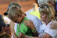 "<div class=""source"">KACIE GOODE/The Kentucky Standard</div><div class=""image-desc"">Family members comfort each other during a prayer service for Crystal Rogers Tuesday. </div><div class=""buy-pic""><a href=""/photo_select/77550"">Buy this photo</a></div>"