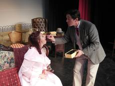"""<div class=""""source"""">submitted </div><div class=""""image-desc"""">A scene from My Fair Lady is rehearsed. The performances are at the Nelson County Civic Center this weekend only. </div><div class=""""buy-pic""""></div>"""