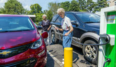 "<div class=""source"">KACIE GOODE/The Kentucky Standard</div><div class=""image-desc"">Sister Molly Thompson plugs in her Chevrolet Bolt at a new charging station at Nazareth. Thompson is the first EV driver for Nazareth as the Sisters of Charity look to reduce their carbon footprint by eventually replacing a fleet of conventional vehicles with electric ones.</div><div class=""buy-pic""><a href=""/photo_select/96577"">Buy this photo</a></div>"
