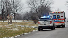 """<div class=""""source"""">KACIE GOODE/The Kentucky Standard</div><div class=""""image-desc"""">Nelson County Sheriff's Office and Nelson County EMS responded to a home on Deatsville Loop Monday afternoon after a car, exiting a driveway, struck a pedestrian. The woman was taken to the hospital for evaluation of a possible head injury.</div><div class=""""buy-pic""""></div>"""