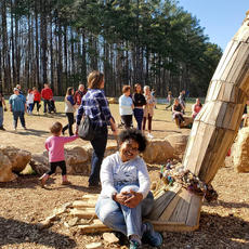 "<div class=""source"">CARRIE PRIDE/The Kentucky Standard</div><div class=""image-desc"">A photo shows a large crowd gathered around one of the Bernheim Forest Giants this week, as warm weather and spring break brought out an influx of visitors.</div><div class=""buy-pic""></div>"