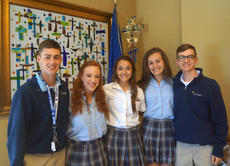 """<div class=""""source"""">SUBMITTED PHOTO</div><div class=""""image-desc"""">Lucas Clements, Gracie Avery, Jordan Cross, Lauren Lee and John Simms will represent Bethlehem High School as 2018 participants in the Governor's Scholar Program.</div><div class=""""buy-pic""""></div>"""