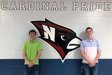 """<div class=""""source"""">SUBMITTED PHOTO</div><div class=""""image-desc"""">Justin Gagne and Larkin Williams will represent Nelson County High School as 2018 participants in the Governor's Scholar Program.</div><div class=""""buy-pic""""></div>"""