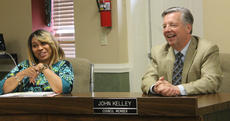 "<div class=""source"">RANDY PATRICK/The Kentucky Standard</div><div class=""image-desc"">Council members Kecia Copeland and John Kelley were happy Tuesday.</div><div class=""buy-pic""><a href=""/photo_select/84980"">Buy this photo</a></div>"