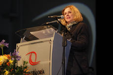 "<div class=""source"">Photo by Mariana Bazo</div><div class=""image-desc"">Suzanne Hayden gives her keynote speech at an international conference on anti-corruption in Lima, Peru.</div><div class=""buy-pic""></div>"