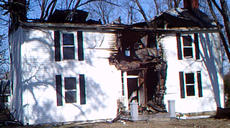 """<div class=""""source""""></div><div class=""""image-desc"""">No one was injured when this house on Stinson Drive, which was built in 1840, burned Wednesday night.</div><div class=""""buy-pic""""><a href=""""/photo_select/91152"""">Buy this photo</a></div>"""