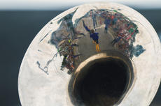 "<div class=""source"">KACIE GOODE/The Kentucky Standard</div><div class=""image-desc"">The Thomas Nelson Marching Band is reflected in the bell of an instrument Saturday during the Iron Horse Festival Parade.</div><div class=""buy-pic""><a href=""/photo_select/98059"">Buy this photo</a></div>"