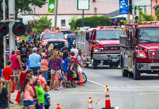 "<div class=""source"">KACIE GOODE/The Kentucky Standard</div><div class=""image-desc"">A crowd gathers on Main Street in New Haven Saturday as firetrucks roll through the Iron Horse Festival parade.</div><div class=""buy-pic""><a href=""/photo_select/98068"">Buy this photo</a></div>"