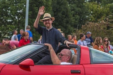 "<div class=""source"">KACIE GOODE/The Kentucky Standard</div><div class=""image-desc"">Fr. Matthew Hardesty waves to the crowd during Saturday's Iron Horse Festival Parade in New Haven. This year's parade recognized St. Catherine Academy's 150th anniversary.</div><div class=""buy-pic""><a href=""/photo_select/98081"">Buy this photo</a></div>"