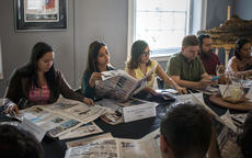 "<div class=""source"">KACIE GOODE/The Kentucky Standard</div><div class=""image-desc"">Journalists from Latin American countries review copies of The Kentucky Standard during a panel discussion Tuesday focusing on rural journalism in Kentucky and the United States.</div><div class=""buy-pic""><a href=""/photo_select/103788"">Buy this photo</a></div>"