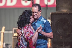 "<div class=""source"">KACIE GOODE/The Kentucky Standard</div><div class=""image-desc"">A couple dances by the stage during one of the songs at Monday night's concert by Resurrection: A Journey Tribute. The band kicked off the Live at the Park concert series at the J. Dan Talbott Amphitheatre.</div><div class=""buy-pic""><a href=""/photo_select/96255"">Buy this photo</a></div>"