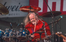 "<div class=""source"">KACIE GOODE/The Kentucky Standard</div><div class=""image-desc"">Drummer Jim Handley performs Monday night during a concert by Resurrection — A Journey Tribute. Handley played live shows with the real Journey band when serving as drum tech several years ago.</div><div class=""buy-pic""><a href=""/photo_select/96257"">Buy this photo</a></div>"