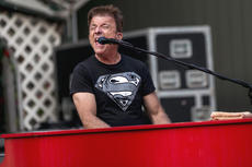 "<div class=""source"">KACIE GOODE/The Kentucky Standard</div><div class=""image-desc"">Vic White plays keyboard and sings Monday night during a concert by Resurrection, a Journey tribute band that kicked off the Live at the Park concert series at the amphitheater.</div><div class=""buy-pic""><a href=""/photo_select/96259"">Buy this photo</a></div>"