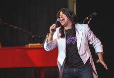 "<div class=""source"">KACIE GOODE/The Kentucky Standard</div><div class=""image-desc"">Lead singer Ryan Christopher belts it out Monday night during a concert by Resurrection, a Journey tribute band. The performance kicked off the Live at the Park concert series at the amphitheater.</div><div class=""buy-pic""><a href=""/photo_select/96250"">Buy this photo</a></div>"
