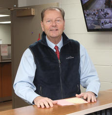 """<div class=""""source"""">RANDY PATRICK/The Kentucky Standard</div><div class=""""image-desc"""">Nelson County Judge-Executive Dean Watts filed his papers Wednesday morning at the County Clerk's Office to be a Democratic candidate for a seventh term.</div><div class=""""buy-pic""""><a href=""""/photo_select/91643"""">Buy this photo</a></div>"""