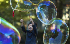 "<div class=""source"">KACIE GOODE/The Kentucky Standard</div><div class=""image-desc"">A child creates large bubbles during Bardstown Rotary Club's annual Kids Day in front of City Hall.</div><div class=""buy-pic""><a href=""/photo_select/98972"">Buy this photo</a></div>"