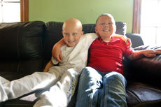 "<div class=""source"">KACIE GOODE/The Kentucky Standard</div><div class=""image-desc"">Gage and Trevor Lewis are just one year apart in age, but their bond as brothers has become even stronger after Gage&#039;s cancer diagnosis. Gage was diagnosed with acute lymphoblastic leukemia Dec. 21, 2016, the same day Trevor underwent a remission scan after being diagnosed with brain cancer at the age of 4.</div><div class=""buy-pic""><a href=""/photo_select/85050"">Buy this photo</a></div>"