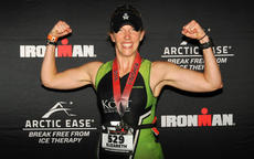 """<div class=""""source"""">Submitted Photo </div><div class=""""image-desc"""">""""A year ago, completing a full Ironman seemed like an impossible dream, but I've learned that with dedication and commitment, I can accomplish just about anything I set my mind to."""" — Liz Mattingly. Mattingly poses with her medal after finishing the Ironman challenge in Louisville. She finished the triathlon in 12 hours and 24 minutes.   </div><div class=""""buy-pic""""></div>"""