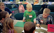 """<div class=""""source"""">KACIE GOODE/The Kentucky Standard</div><div class=""""image-desc"""">Teamwork is used during an activity for 4-H Nature Club's first meeting, which was Wednesday.</div><div class=""""buy-pic""""><a href=""""/photo_select/74375"""">Buy this photo</a></div>"""