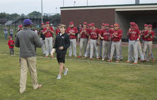 """<div class=""""source"""">PETER W. ZUBATY/The Kentucky Standard</div><div class=""""image-desc"""">Injured Nelson County senior starter Dylan Jones walks out to pick up the 19th District trophy after the Cardinals' 5-0 win over Bardstown in Thursday's championship.</div><div class=""""buy-pic""""></div>"""
