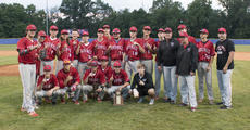 """<div class=""""source"""">PETER W. ZUBATY/The Kentucky Standard</div><div class=""""image-desc"""">The Nelson County Cardinals pose with the 19th District baseball championship trophy after the school's 5-0 win over Bardstown on Thursday. It was the Cardinals' first district crown since 2010.</div><div class=""""buy-pic""""></div>"""