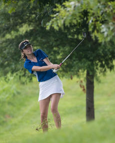 "<div class=""source"">DAVID ASHER/Contributing Photographer</div><div class=""image-desc"">Nelson County&#039;s Lilly-Anne Dossett watches her shot during last year&#039;s Cardinal Invitational at Maywood. Dossett recently shot an 18-hole 81 in a tournament in Bowling Green to card one of the lowest girls&#039; rounds in Cardinal history.</div><div class=""buy-pic""></div>"
