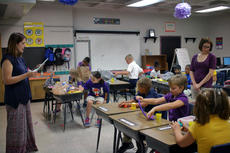"<div class=""source"">KACIE GOODE/The Kentucky Standard</div><div class=""image-desc"">Classes start with some quick explanations and ground rules Tuesday morning at Bardstown Elementary</div><div class=""buy-pic""><a href=""/photo_select/88069"">Buy this photo</a></div>"