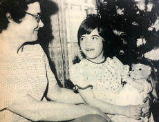 "<div class=""source"">KENTUCKY STANDARD FILE PHOTO</div><div class=""image-desc"">Deanna Pardue, then 6, sits next to her mother and clutches a doll she received from Santa. This photograph, which appeared in the Dec. 30, 1976 edition of The Kentucky Standard, was taken just months after Deanna received a kidney transplant. Her mother was the donor and the kidney has lasted nearly four times longer than as what is often expected from a transplanted organ.</div><div class=""buy-pic""></div>"