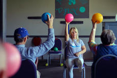 "<div class=""source"">KACIE GOODE/The Kentucky Standard</div><div class=""image-desc"">Trainer Traci Melgar leads an exercise demonstration at Darkside Athletics last Wednesday for the local Parkinson's support group.</div><div class=""buy-pic""><a href=""/photo_select/94751"">Buy this photo</a></div>"