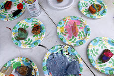 """<div class=""""source"""">KACIE GOODE/The Kentucky Standard</div><div class=""""image-desc"""">Rocks sit out to dry after kids took part in a rock painting party hosted by Suga Babies downtown. In the past month, the Nelson County Rocks group has taken off, inspiring families to paint, hide, and find decorated rocks throughout the community.</div><div class=""""buy-pic""""><a href=""""/photo_select/85386"""">Buy this photo</a></div>"""