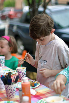 """<div class=""""source"""">KACIE GOODE/The Kentucky Standard</div><div class=""""image-desc"""">Jack Mitzelfelt thinks about what to add next as he paints a rock outside of the Suga Babies. The business hosted a rock painting party Saturday, and another was held in Bloomfield earlier that day. Nelson County Rocks is a Facebook group hundreds have joined locally to paint, hide and seek rocks around the community.</div><div class=""""buy-pic""""><a href=""""/photo_select/85389"""">Buy this photo</a></div>"""