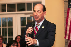 """<div class=""""source"""">RANDY PATRICK/The Kentucky Standard</div><div class=""""image-desc"""">Rocky Adkins tells Democrats it's time to throw Gov. Matt Bevin out of office and """"shut the door.""""</div><div class=""""buy-pic""""><a href=""""/photo_select/102851"""">Buy this photo</a></div>"""