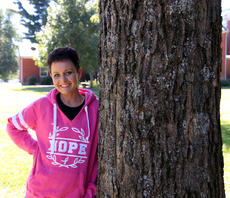 """<div class=""""source"""">TREY CRUMBIE/The Kentucky Standard</div><div class=""""image-desc"""">Sasha Molohon-Medley was diagnosed with breast cancer in August after she noticed a lump on her chest in July. Despite the diagnosis, Molohon-Medley maintains a positive attitude and is grateful for her large support group.</div><div class=""""buy-pic""""><a href=""""/photo_select/80229"""">Buy this photo</a></div>"""