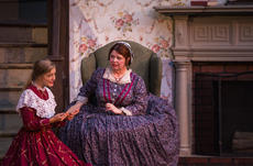 "<div class=""source"">KACIE GOODE/The Kentucky Standard</div><div class=""image-desc"">Mattie McDowell (Kit Mills) worries about her daughter Jane's (Hope Klessig) infatuation with a composer named Stephen Foster.</div><div class=""buy-pic""><a href=""/photo_select/103670"">Buy this photo</a></div>"
