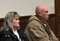 "<div class=""source"">KACIE GOODE/The Kentucky Standard</div><div class=""image-desc"">Tommy and Sherry Ballard, parents of Crystal Rogers, were in the courtroom Thursday afternoon when Danny Singleton's bond was cut in half. Singleton is charged with 38 counts of perjury in relation to statments made regarding the investigation of Rogers' July 3 disappearance.</div><div class=""buy-pic""><a href=""/photo_select/74124"">Buy this photo</a></div>"