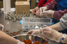 """<div class=""""source"""">KACIE GOODE/The Kentucky Standard</div><div class=""""image-desc"""">Participants pack samples of spices and sugar on the first day of a new job Monday at the Guthrie Opportunity Center.</div><div class=""""buy-pic""""><a href=""""/photo_select/83410"""">Buy this photo</a></div>"""