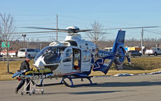 """<div class=""""source"""">LYNETTE MASON/The Spencer Magnet</div><div class=""""image-desc"""">A man was airlifted to the hospital for a stabbing in Bloomfield. The Nelson County Sheriff's Office said the stabbing involved a domestic dispute. EMS transported the man to Spencer County High School, where he was transferred to the helicopter. </div><div class=""""buy-pic""""></div>"""