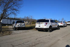 """<div class=""""source"""">TREY CRUMBIE/The Kentucky Standard</div><div class=""""image-desc"""">Deputies from the Nelson County Sheriff's Office responded to a stabbing at 1910 Highview Church Road in Bloomfield Thursday afternoon. The victim, whose name was not released as of press time, suffered substantial blood loss and was airlifted to the University of Louisville.</div><div class=""""buy-pic""""><a href=""""/photo_select/73090"""">Buy this photo</a></div>"""