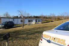 """<div class=""""source"""">TREY CRUMBIE/The Kentucky Standard</div><div class=""""image-desc"""">Deputies from the Nelson County Sheriff's Office responded to a stabbing at 1910 Highview Church Road in Bloomfield Thursday afternoon. The victim, whose name was not released as of press time, suffered substantial blood loss and was airlifted to the University of Louisville.</div><div class=""""buy-pic""""><a href=""""/photo_select/73091"""">Buy this photo</a></div>"""