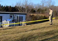 """<div class=""""source"""">TREY CRUMBIE/The Kentucky Standard</div><div class=""""image-desc"""">Deputies from the Nelson County Sheriff's Office responded to a stabbing at 1910 Highview Church Road in Bloomfield Thursday afternoon. The victim, whose name was not released as of press time, suffered substantial blood loss and was airlifted to the University of Louisville.</div><div class=""""buy-pic""""><a href=""""/photo_select/73093"""">Buy this photo</a></div>"""