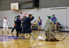"""<div class=""""source"""">KACIE GOODE/The Kentucky Standard</div><div class=""""image-desc"""">Bardstown Middle School staff perform a Star Wars-themed skit at the Friday morning assembly, but a special guest was announced at the end.</div><div class=""""buy-pic""""><a href=""""/photo_select/85715"""">Buy this photo</a></div>"""