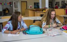 "<div class=""source"">KACIE GOODE/The Kentucky Standard</div><div class=""image-desc"">Teens hang out in the media center of Thomas Nelson High School on Nelson County's first day back from summer break.</div><div class=""buy-pic""><a href=""/photo_select/97324"">Buy this photo</a></div>"