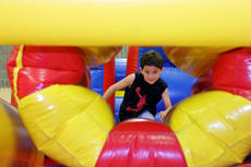 "<div class=""source"">KACIE GOODE/The Kentucky Standard</div><div class=""image-desc"">An inflatable obstacle course was set up in the gym Friday during Bardstown Primary School's Tigerpawlooza.</div><div class=""buy-pic""><a href=""/photo_select/95858"">Buy this photo</a></div>"