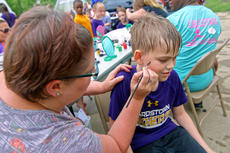 "<div class=""source"">KACIE GOODE/The Kentucky Standard</div><div class=""image-desc"">Kids had their faces painted during Tigerpawlooza, Bardstown Primary School's end-of-year celebration.</div><div class=""buy-pic""><a href=""/photo_select/95859"">Buy this photo</a></div>"