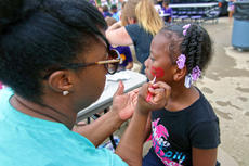 "<div class=""source"">KACIE GOODE/The Kentucky Standard</div><div class=""image-desc"">Kids had their faces painted during Tigerpawlooza, Bardstown Primary School's end-of-year celebration.</div><div class=""buy-pic""><a href=""/photo_select/95860"">Buy this photo</a></div>"