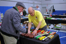 "<div class=""source"">KACIE GOODE/The Kentucky Standard</div><div class=""image-desc"">Guests browse items Saturday at the Kentucky Railway Museum's annual Train Show and Sale event.</div><div class=""buy-pic""><a href=""/photo_select/94357"">Buy this photo</a></div>"