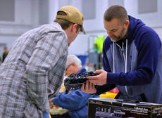 "<div class=""source"">KACIE GOODE/The Kentucky Standard</div><div class=""image-desc"">Guests browse items Saturday at the Kentucky Railway Museum's annual Train Show and Sale event.</div><div class=""buy-pic""><a href=""/photo_select/94358"">Buy this photo</a></div>"