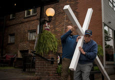 "<div class=""source"">KACIE GOODE/The Kentucky Standard </div><div class=""image-desc"">Friday's Walk with the Cross in Bardstown.</div><div class=""buy-pic""><a href=""/photo_select/102553"">Buy this photo</a></div>"